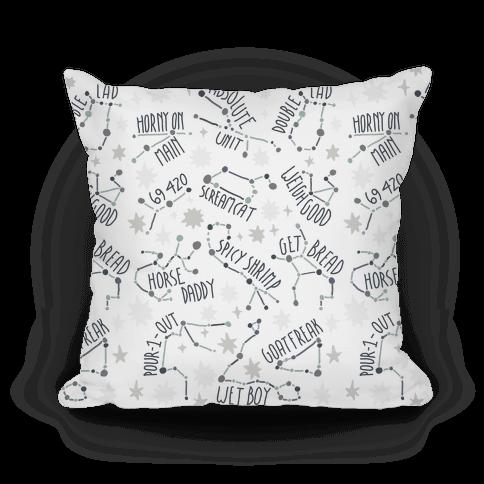 Asstrology Constellations Pillow