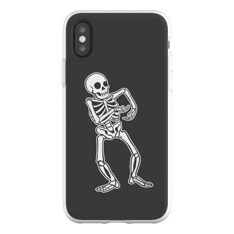 Milly Rocking Skeleton Phone Flexi-Case