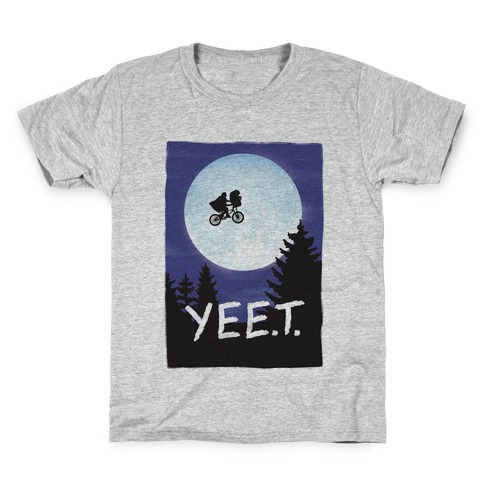 YEET E.T. Parody Kids T-Shirt