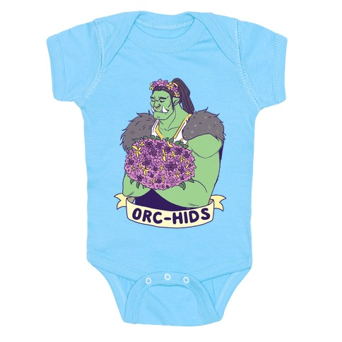 Orc-hids Baby Onesy