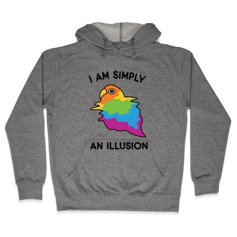 Bird Illusion Hooded Sweatshirt
