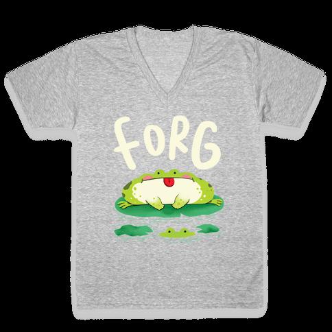 Forg V-Neck Tee Shirt