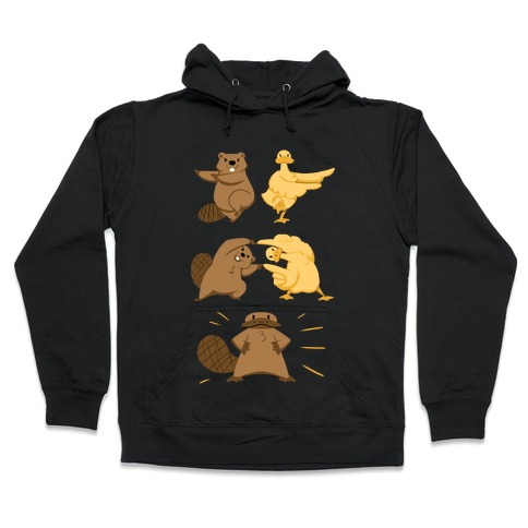 Platypus fusion dance Hooded Sweatshirt