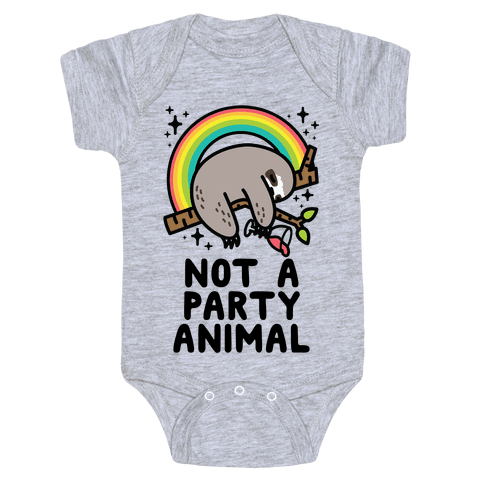 Not a Party Animal Baby One-Piece