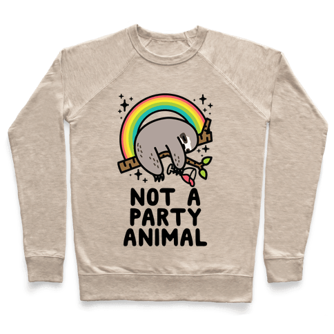 Not a Party Animal Pullover
