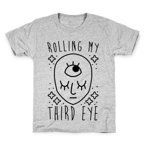 Rolling My Third Eye Kids T-Shirt