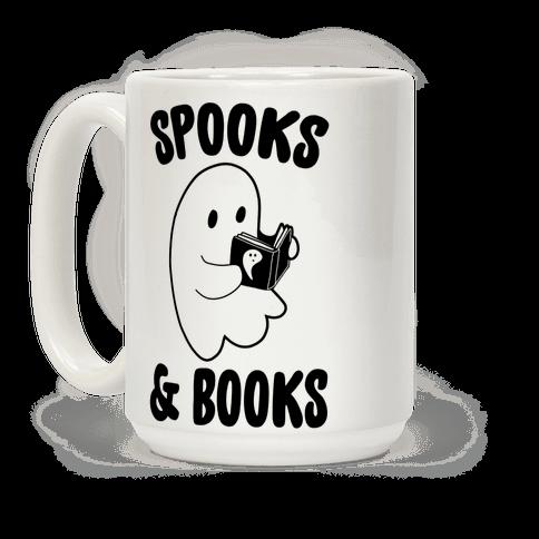 Spooks and Books Coffee Mug