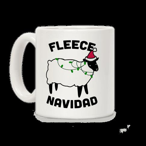 Fleece Navidad Coffee Mug