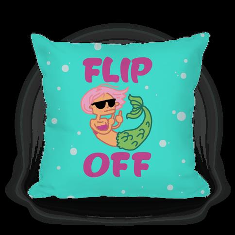 Flip Off Pillow