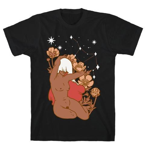 Zodiac Pinup Virgo T-Shirt
