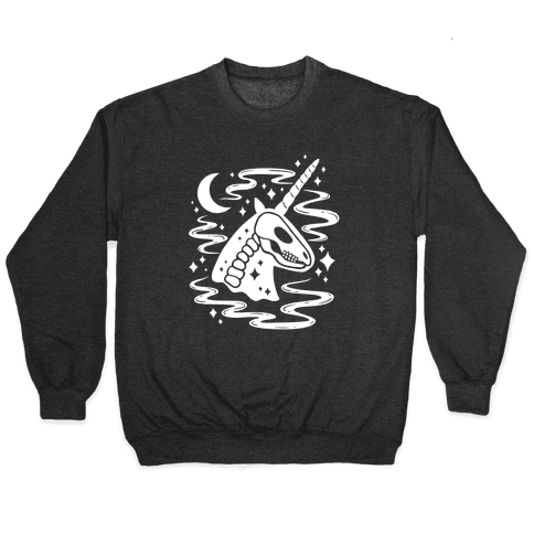 Spooky Ghost Unicorn Pullover