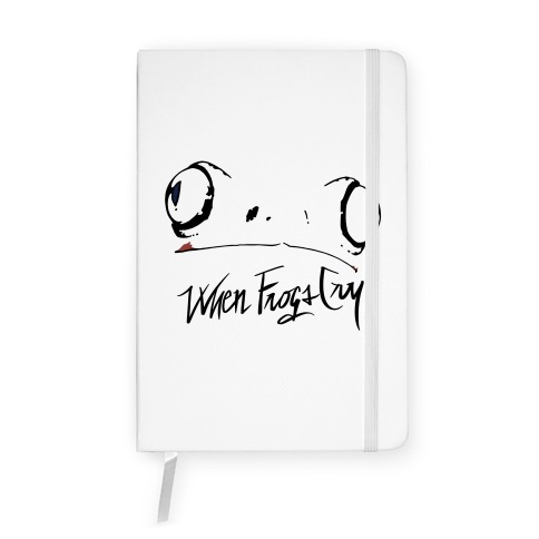 When Frogs Cry Notebook