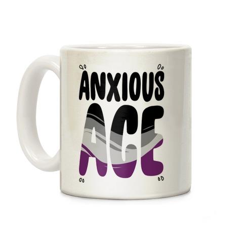 Anxious Ace Coffee Mug