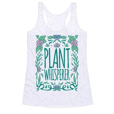 Plant Whisperer Racerback Tank Top