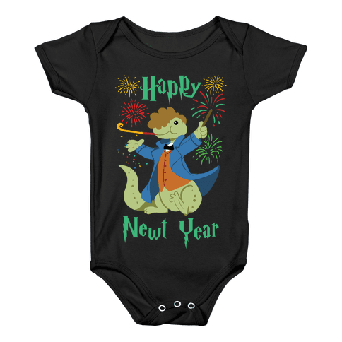 Happy Newt Year Baby Onesy