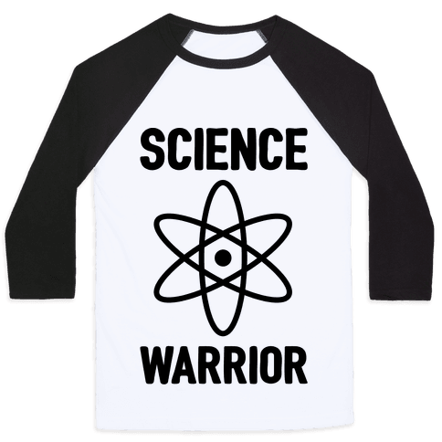 Science Warrior Baseball Tee