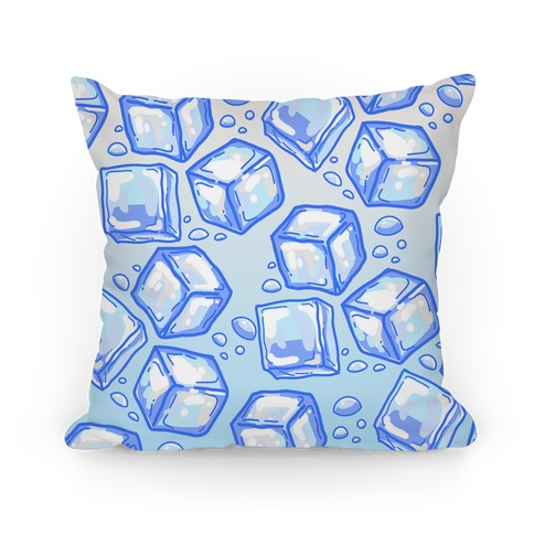 Ice Cube Pattern  Pillow