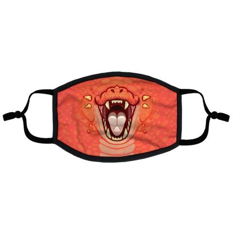 Dragon Mouth Flat Face Mask
