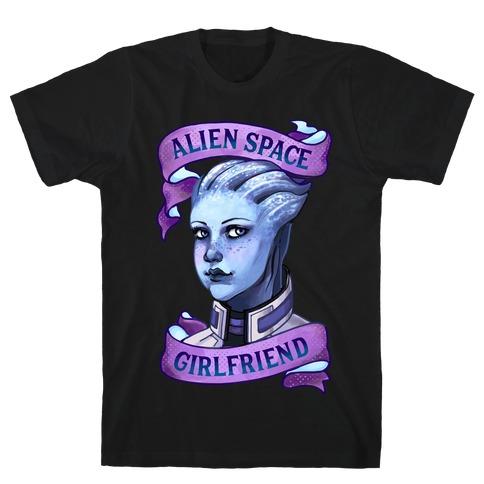 Alien Space Girlfriend Liara T-Shirt