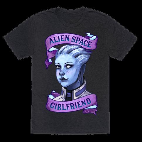 Alien Space Girlfriend Liara