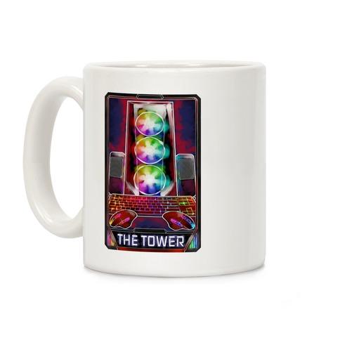 The Gaming Tower Tarot Card Coffee Mug
