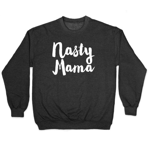 Nasty Mama White Print Pullover