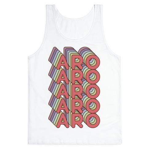 Aro Retro Rainbow Tank Top