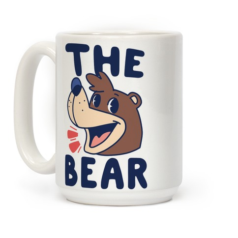 The Bear and the Bird (Banjo on front, Kazooie in back) Coffee Mug