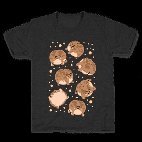Desert Rain Frog Pattern Kids T-Shirt