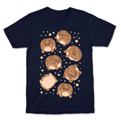 Desert Rain Frog Pattern T-Shirt