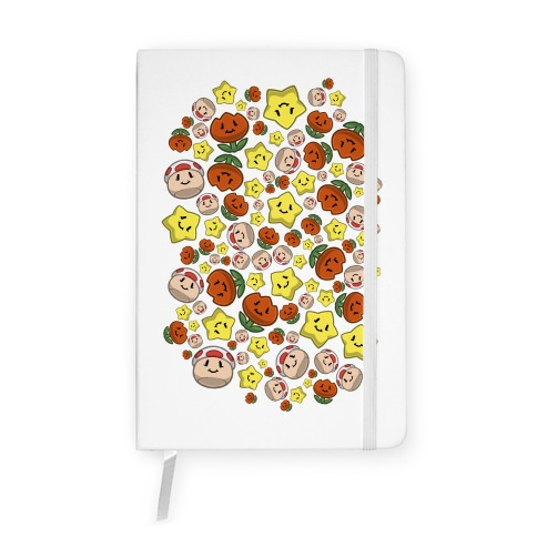 Stuffed Powerups Pattern Notebook