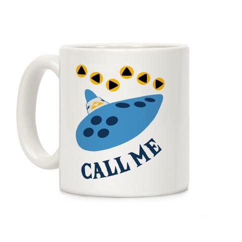 Call Me Zelda Ocarina Coffee Mug