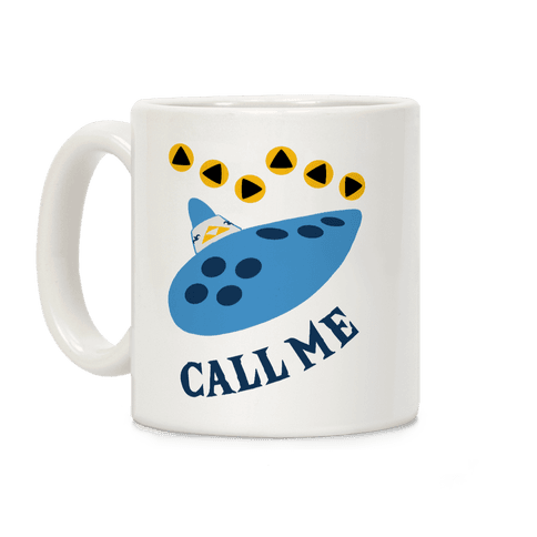 Call Me Zelda Ocarina Coffee Mug