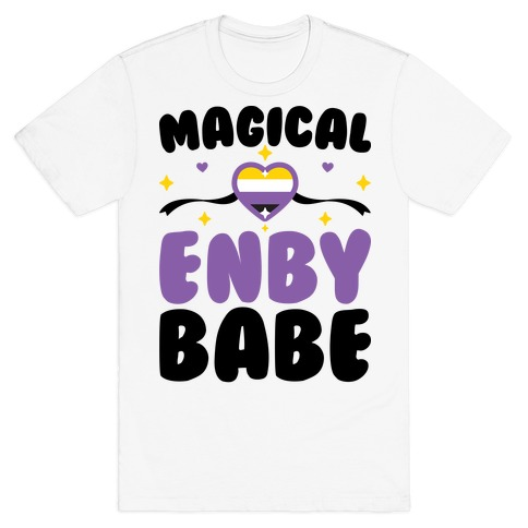 Magical Enby Babe T-Shirt