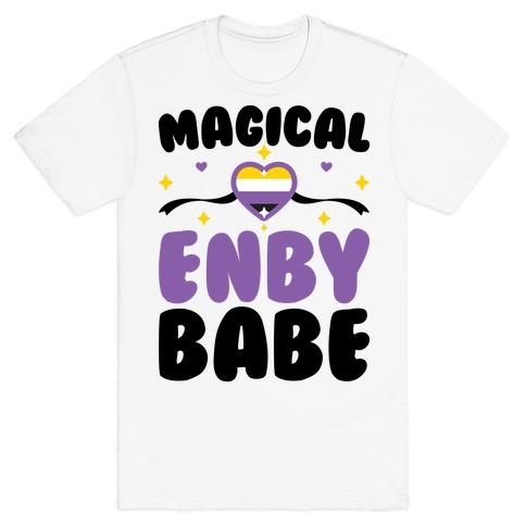 Magical Enby Babe Mens/Unisex T-Shirt