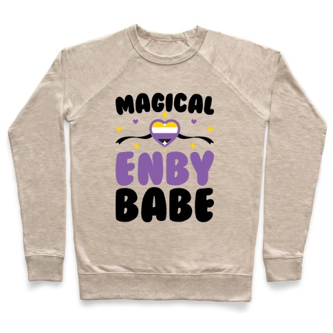 Magical Enby Babe Pullover