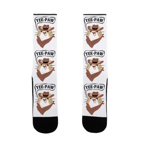 YEE-PAW! Sock