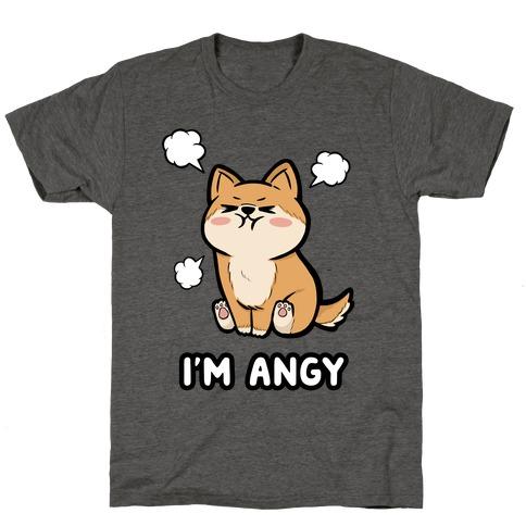 I'm Angy Shiba Inu T-Shirt