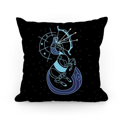 Stylized Sagittarius Pillow