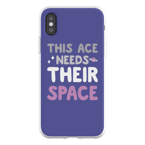 This Ace Needs Their Space Phone Flexi-Case