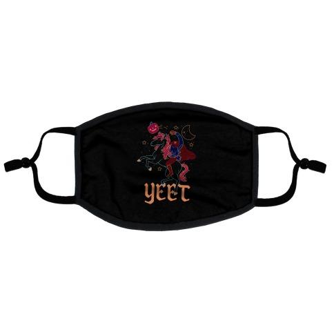 Yeetless Horseman Flat Face Mask