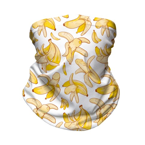 Banana penis pattern Neck Gaiter