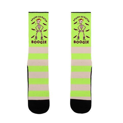 Spoop Scootin' Boogie Sock