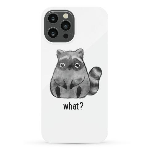Sassy Cute Raccoon Phone Case
