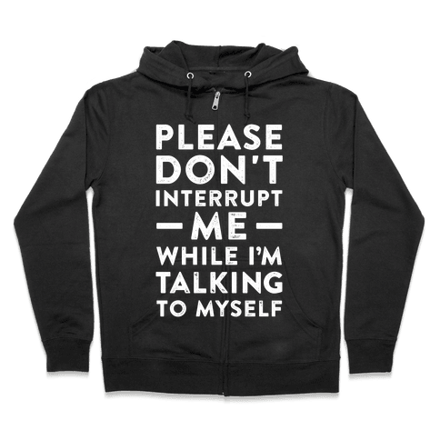 If It Tickles Your Nuts Go For It Zip Hoodie