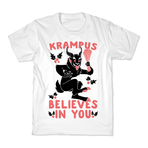 Krampus Believes in You Kids T-Shirt