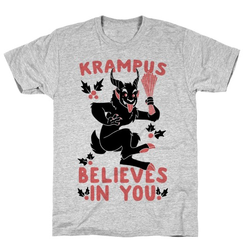 Krampus Believes in You T-Shirt