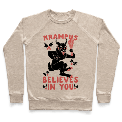 Krampus Believes in You Pullover