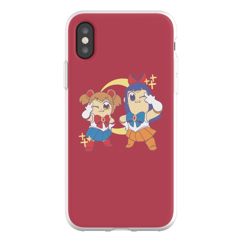 Pretty Sailor Pop Team Epic Phone Flexi-Case