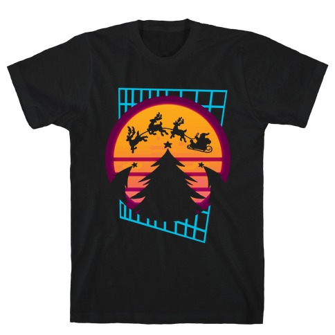Synthwave Christmas T-Shirt